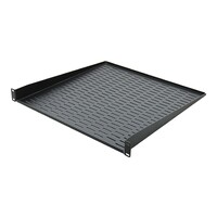 "SWAMP 1U 19"" Rack Mount Tray Shelf with Slotted Holes - Extra Depth"