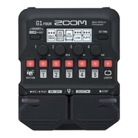 Zoom G1 FOUR Guitar Multi-Effects Processor Pedal