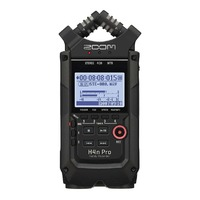 Zoom H4n PRO Handy 4 Track Portable Digital Audio Field Recorder - Black