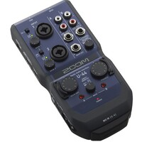 ZOOM U-44 USB 4 In 4 Out Handy Mobile Recording and Performing Audio Interface