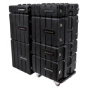 Latest range of 'Road Ready' LLDPE 19inch Rack Cases